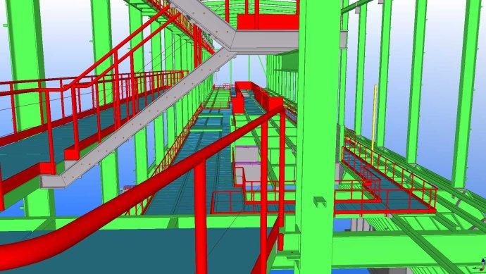 钢结构图纸深化建模