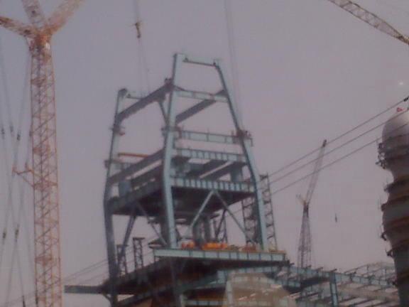 钢结构高平台安装